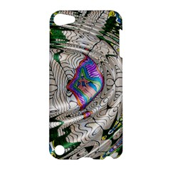 Water Ripple Design Background Wallpaper Of Water Ripples Applied To A Kaleidoscope Pattern Apple Ipod Touch 5 Hardshell Case