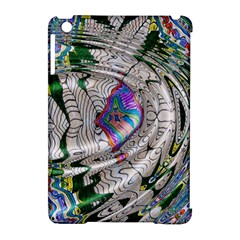 Water Ripple Design Background Wallpaper Of Water Ripples Applied To A Kaleidoscope Pattern Apple Ipad Mini Hardshell Case (compatible With Smart Cover) by BangZart