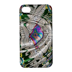 Water Ripple Design Background Wallpaper Of Water Ripples Applied To A Kaleidoscope Pattern Apple Iphone 4/4s Hardshell Case With Stand