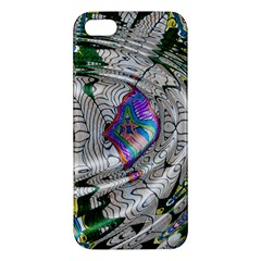 Water Ripple Design Background Wallpaper Of Water Ripples Applied To A Kaleidoscope Pattern Apple Iphone 5 Premium Hardshell Case