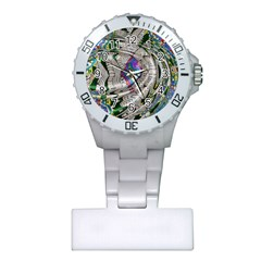 Water Ripple Design Background Wallpaper Of Water Ripples Applied To A Kaleidoscope Pattern Plastic Nurses Watch