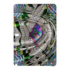 Water Ripple Design Background Wallpaper Of Water Ripples Applied To A Kaleidoscope Pattern Samsung Galaxy Tab Pro 10 1 Hardshell Case