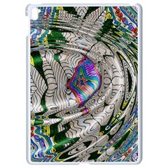 Water Ripple Design Background Wallpaper Of Water Ripples Applied To A Kaleidoscope Pattern Apple Ipad Pro 9 7   White Seamless Case
