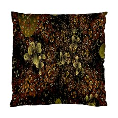 Wallpaper With Fractal Small Flowers Standard Cushion Case (one Side)