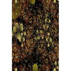 Wallpaper With Fractal Small Flowers 5 5  X 8 5  Notebooks by BangZart