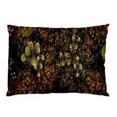 Wallpaper With Fractal Small Flowers Pillow Case (two Sides)