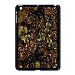 Wallpaper With Fractal Small Flowers Apple Ipad Mini Case (black) by BangZart