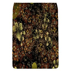 Wallpaper With Fractal Small Flowers Flap Covers (s)  by BangZart