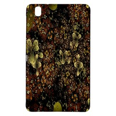 Wallpaper With Fractal Small Flowers Samsung Galaxy Tab Pro 8 4 Hardshell Case