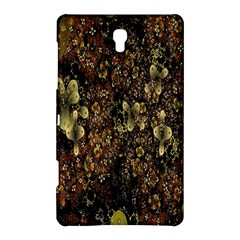 Wallpaper With Fractal Small Flowers Samsung Galaxy Tab S (8 4 ) Hardshell Case