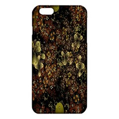 Wallpaper With Fractal Small Flowers Iphone 6 Plus/6s Plus Tpu Case by BangZart