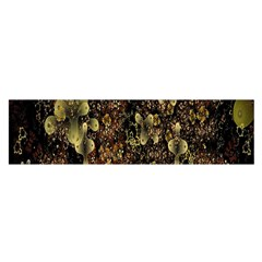 Wallpaper With Fractal Small Flowers Satin Scarf (oblong) by BangZart