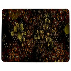 Wallpaper With Fractal Small Flowers Jigsaw Puzzle Photo Stand (rectangular) by BangZart