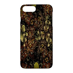 Wallpaper With Fractal Small Flowers Apple Iphone 7 Plus Hardshell Case