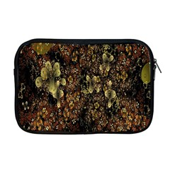 Wallpaper With Fractal Small Flowers Apple Macbook Pro 17  Zipper Case by BangZart
