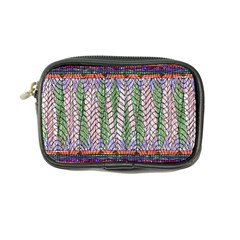 Nature Pattern Background Wallpaper Of Leaves And Flowers Abstract Style Coin Purse