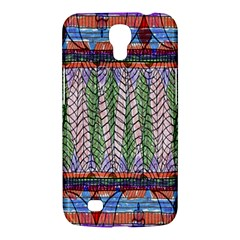 Nature Pattern Background Wallpaper Of Leaves And Flowers Abstract Style Samsung Galaxy Mega 6 3  I9200 Hardshell Case