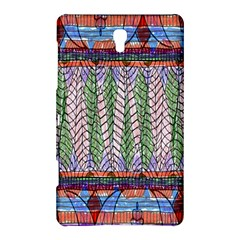 Nature Pattern Background Wallpaper Of Leaves And Flowers Abstract Style Samsung Galaxy Tab S (8 4 ) Hardshell Case