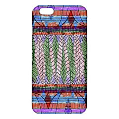 Nature Pattern Background Wallpaper Of Leaves And Flowers Abstract Style Iphone 6 Plus/6s Plus Tpu Case by BangZart