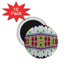 Kaleidoscope Background  Wallpaper 1 75  Magnets (10 Pack)