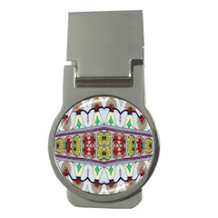 Kaleidoscope Background  Wallpaper Money Clips (round)  by BangZart