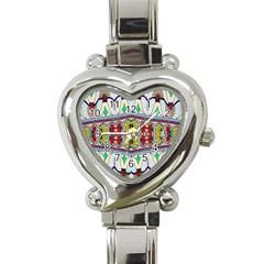 Kaleidoscope Background  Wallpaper Heart Italian Charm Watch by BangZart