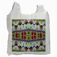 Kaleidoscope Background  Wallpaper Recycle Bag (two Side)