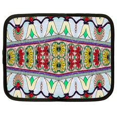 Kaleidoscope Background  Wallpaper Netbook Case (xl)