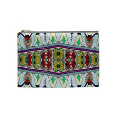 Kaleidoscope Background  Wallpaper Cosmetic Bag (medium)  by BangZart
