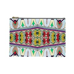 Kaleidoscope Background  Wallpaper Cosmetic Bag (large)  by BangZart