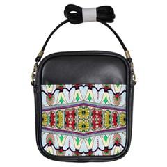 Kaleidoscope Background  Wallpaper Girls Sling Bags by BangZart