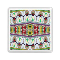 Kaleidoscope Background  Wallpaper Memory Card Reader (square)