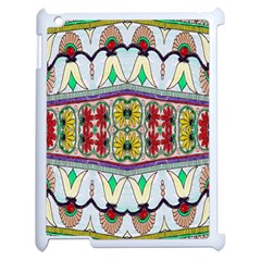 Kaleidoscope Background  Wallpaper Apple Ipad 2 Case (white) by BangZart