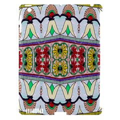 Kaleidoscope Background  Wallpaper Apple Ipad 3/4 Hardshell Case (compatible With Smart Cover) by BangZart