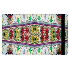 Kaleidoscope Background  Wallpaper Apple Ipad 2 Flip Case by BangZart