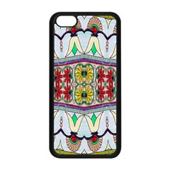 Kaleidoscope Background  Wallpaper Apple Iphone 5c Seamless Case (black) by BangZart