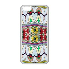 Kaleidoscope Background  Wallpaper Apple Iphone 5c Seamless Case (white) by BangZart