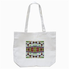 Kaleidoscope Background  Wallpaper Tote Bag (white)