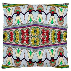 Kaleidoscope Background  Wallpaper Large Flano Cushion Case (two Sides) by BangZart