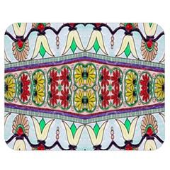 Kaleidoscope Background  Wallpaper Double Sided Flano Blanket (medium)  by BangZart