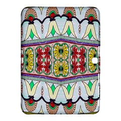 Kaleidoscope Background  Wallpaper Samsung Galaxy Tab 4 (10 1 ) Hardshell Case