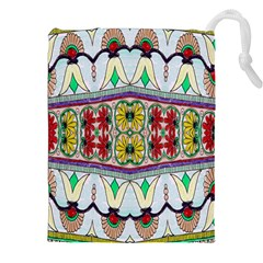 Kaleidoscope Background  Wallpaper Drawstring Pouches (xxl)