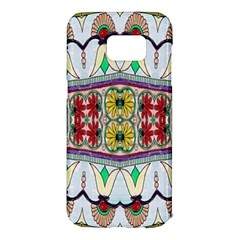 Kaleidoscope Background  Wallpaper Samsung Galaxy S7 Edge Hardshell Case