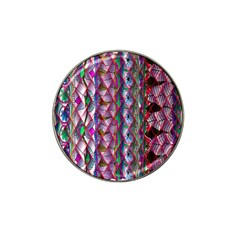 Textured Design Background Pink Wallpaper Of Textured Pattern In Pink Hues Hat Clip Ball Marker (10 Pack)