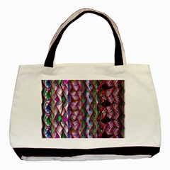 Textured Design Background Pink Wallpaper Of Textured Pattern In Pink Hues Basic Tote Bag by BangZart