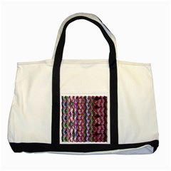 Textured Design Background Pink Wallpaper Of Textured Pattern In Pink Hues Two Tone Tote Bag