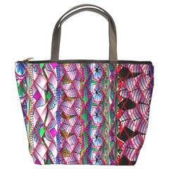 Textured Design Background Pink Wallpaper Of Textured Pattern In Pink Hues Bucket Bags