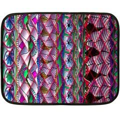 Textured Design Background Pink Wallpaper Of Textured Pattern In Pink Hues Fleece Blanket (mini)