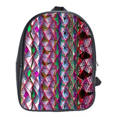 Textured Design Background Pink Wallpaper Of Textured Pattern In Pink Hues School Bags(large)