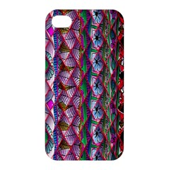 Textured Design Background Pink Wallpaper Of Textured Pattern In Pink Hues Apple Iphone 4/4s Hardshell Case by BangZart